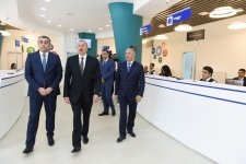 Ilham Aliyev views Jalilabad Telecom Network's administrative & technological building (PHOTO) - Gallery Thumbnail