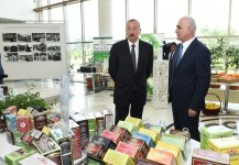 President Ilham Aliyev chairs republican conference on development of tea, rice and citrus fruits production in Lankaran (PHOTO) - Gallery Thumbnail