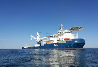 New subsea construction vessel launched to support Shah Deniz Stage 2 (PHOTO)