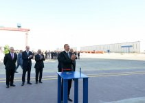 Ilham Aliyev attends launch of Khankendi subsea construction vessel (PHOTO) - Gallery Thumbnail