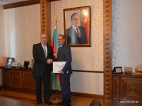 Azerbaijani FM meets newly appointed Hungarian envoy (PHOTO) - Gallery Thumbnail