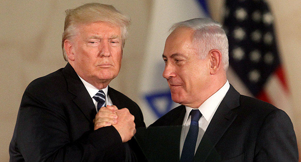 Trump and Netanyahu talk Middle East