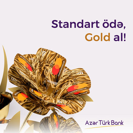 "Azer Turk Bank presents customers ""Blooming Out"" novelties"