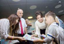 Bakı metrosunda məktəblilər üçün aksiya (FOTO) - Gallery Thumbnail