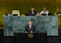 Ilham Aliyev, his spouse attend opening of 72nd Session of UN General Assembly (PHOTO) - Gallery Thumbnail