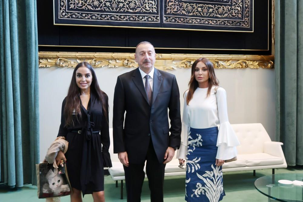 Ilham Aliyev, his spouse attend opening of 72nd Session of UN General Assembly (PHOTO) - Gallery Image