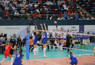 Serbian national women's volleyball team becomes champion of Europe