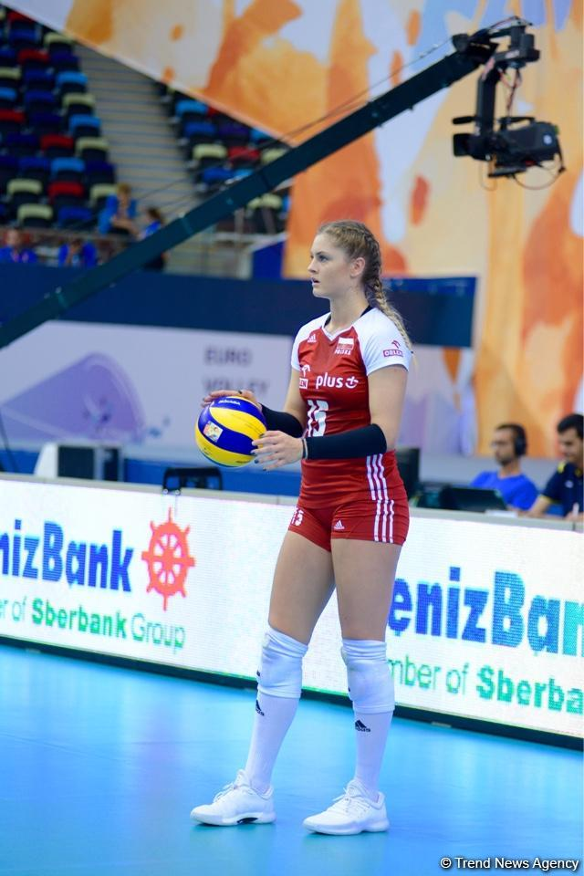 Azerbaijan's national volleyball team faces Poland squad (PHOTO) - Gallery Image