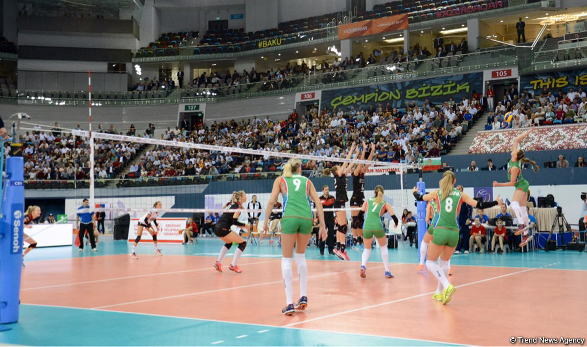 Azerbaijani women's volleyball team makes it to CEV championship quarterfinals (PHOTO) - Gallery Image