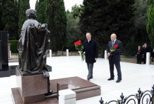 Secretary of Russian Security Council pays respect to national leader Heydar Aliyev (PHOTO) - Gallery Thumbnail