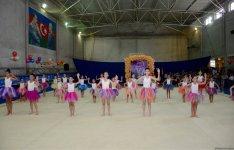 Bədii gimnastika üzrə Payız Ulduzları açıq birinciliyi keçirilib (FOTO) - Gallery Thumbnail