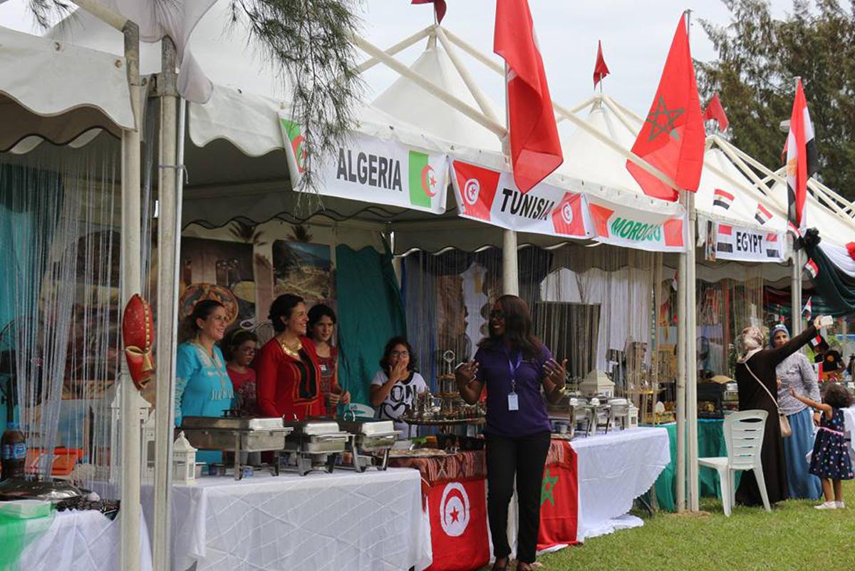 Azərbaycan Milli Geyim Mərkəzinin libasları Nigeriyada təqdim olunub (FOTO) - Gallery Image