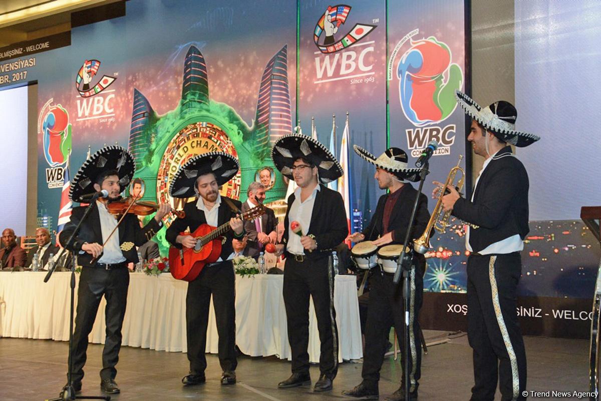 Bakıda Dünya Boks Şurasının 55-ci konvensiyasının açılış mərasimi baş tutub (FOTO) - Gallery Image