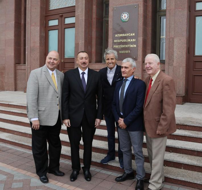 Prezident İlham Əliyev Ümumdünya Boks Şurasının 55-ci Konvensiyasının iştirakçılarını qəbul edib (FOTO) (YENİLƏNİB-2) - Gallery Image