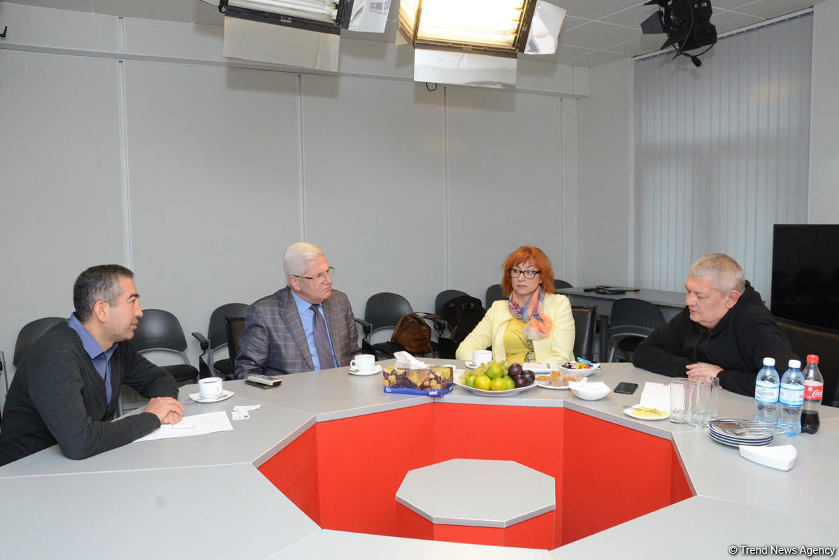 Lithuanian journalists visit Trend News Agency (PHOTO)