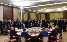 President Aliyev takes part in narrow format meeting of CIS Council of Heads of State (PHOTO) - Gallery Thumbnail