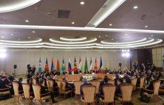 Президент Ильхам Алиев принял участие в заседании Совета глав государств СНГ в  расширенном составе (ФОТО) - Gallery Thumbnail