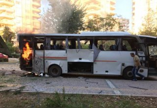 12 wounded in bomb attack on police vehicle in Turkey's Mersin province (PHOTO)