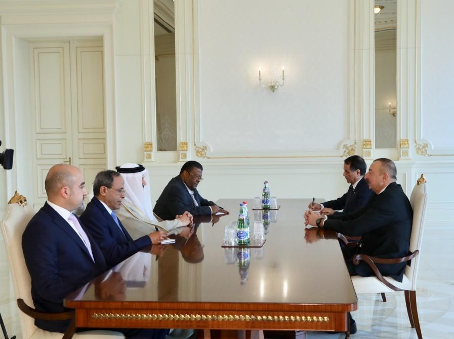 Ilham Aliyev: There are good opportunities for GCC countries investing in Azerbaijan (PHOTO)