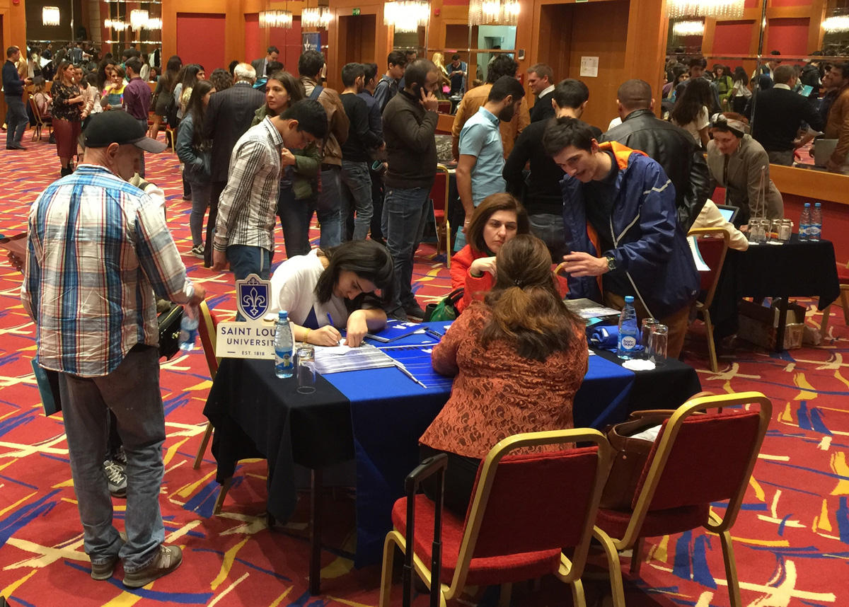 US Embassy organizes US Education Fair in Baku (PHOTO)