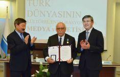 Nabi Avcı'ya Kazakistan Bağımsızlık Madalyası Takdim edildi (Fotoğraf) - Gallery Thumbnail