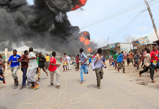 At least 6 killed in Somali capital suicide bombing