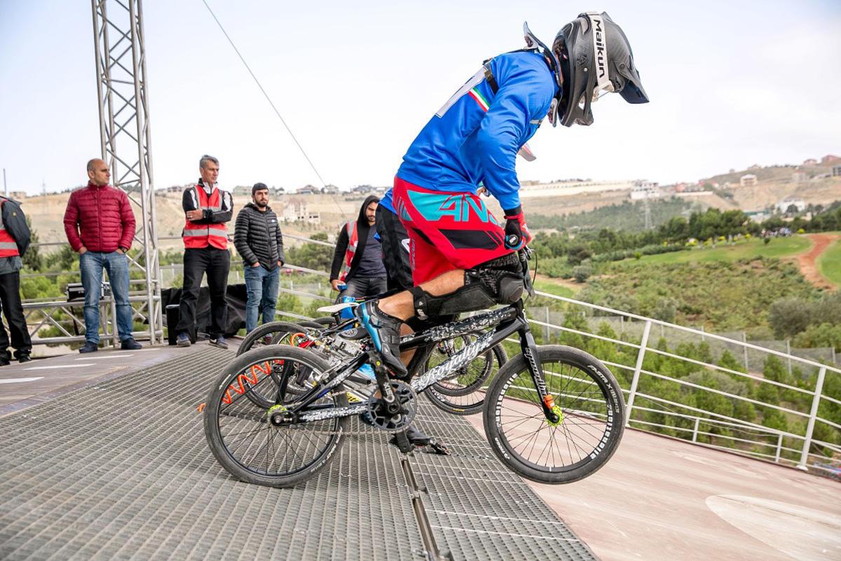 Bakıda BMX üzrə dünya sınaq yarışına start verilib (FOTO) - Gallery Image