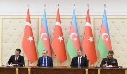 Azerbaijan, Turkey sign agreements (UPDATE) - Gallery Thumbnail