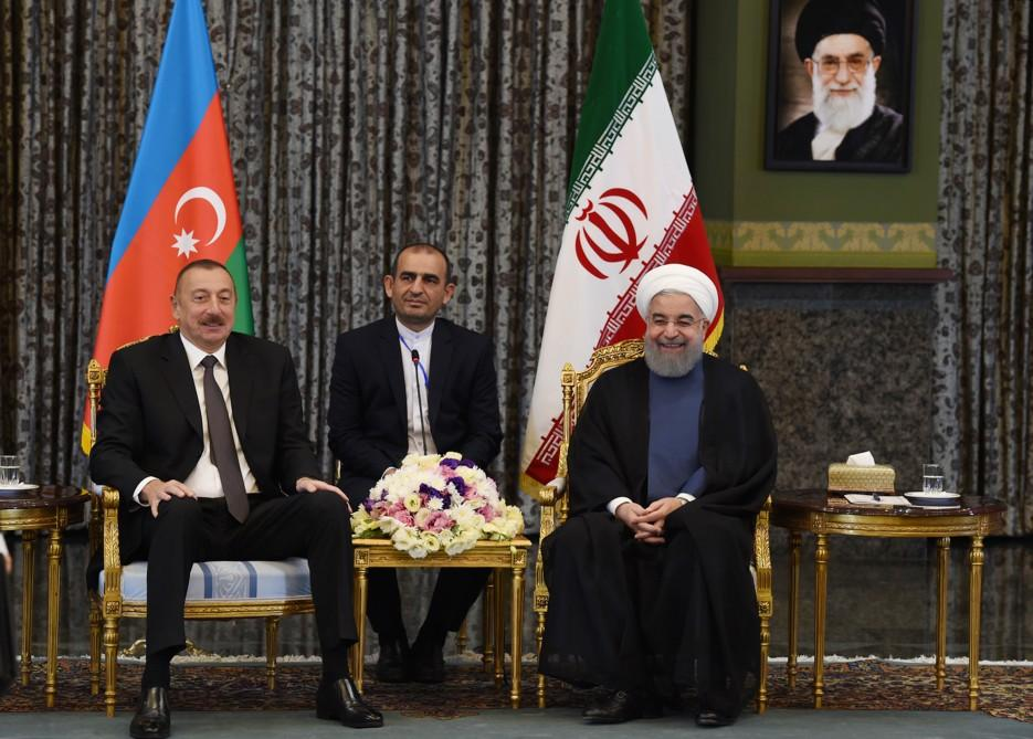 Presidents of Azerbaijan, Iran discuss Karabakh conflict (PHOTO) - Gallery Image