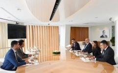 First VP Mehriban Aliyeva meets members of France-Azerbaijan Friendship Group (PHOTO) - Gallery Thumbnail