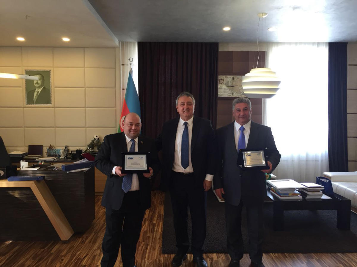 Swimming federations of Azerbaijan, Italy to co-op (PHOTO) - Gallery Image