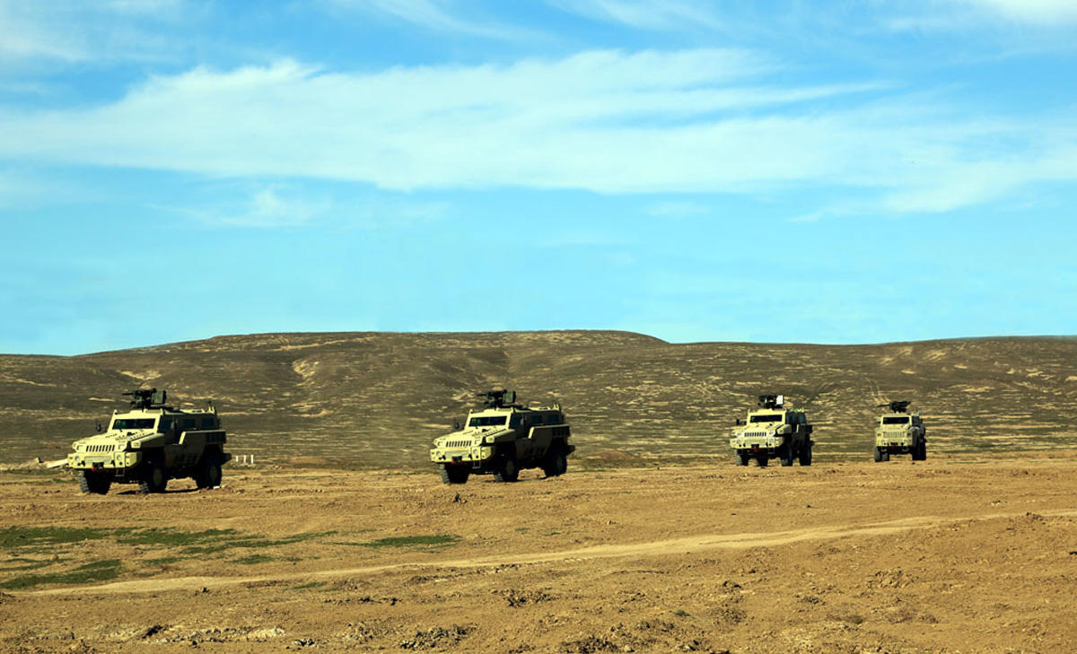 Azerbaijani Armed Forces conduct live-firing exercise (PHOTO)