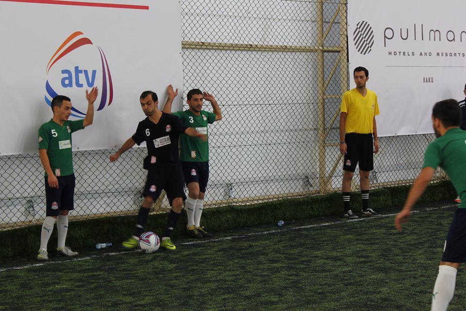 Футбольные страсти  AZFAR Business League - голы, желтые и красные карточки (ВИДЕО, ФОТО) - Gallery Image