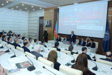 UNEC-də Azərbaycan-Türkiyə diplomatik əlaqələrinə həsr olunan elmi konfrans keçirilib (FOTO) - Gallery Thumbnail