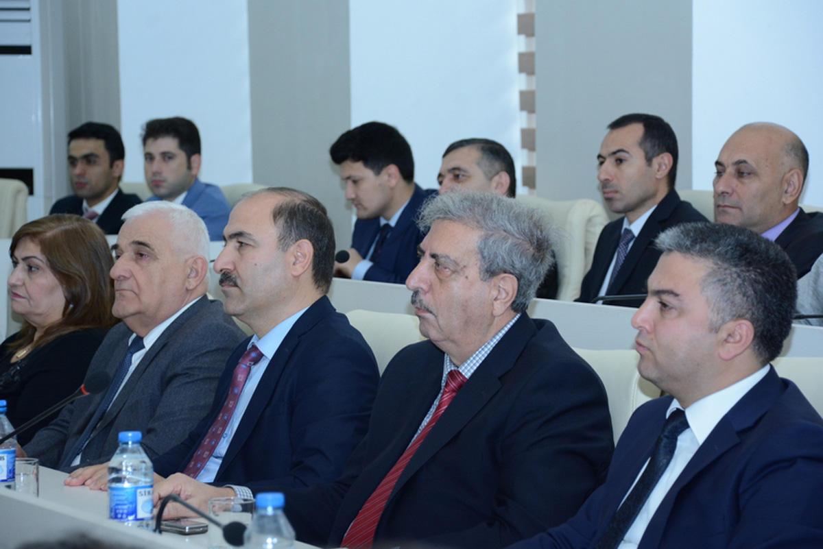 UNEC-də Azərbaycan-Türkiyə diplomatik əlaqələrinə həsr olunan elmi konfrans keçirilib (FOTO) - Gallery Image