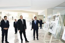 President Aliyev views construction of Majestic Palace hotel in Ganja (PHOTO) - Gallery Thumbnail