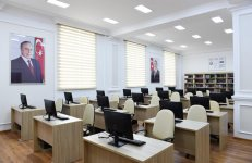 Ilham Aliyev inaugurates newly-built dormitory of State Agricultural University (PHOTO) - Gallery Thumbnail