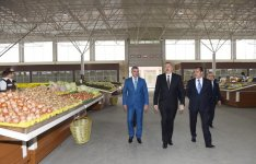 Ilham Aliyev attends opening of 'Grand Qafqaz' trade complex in Ganja city (PHOTO) - Gallery Thumbnail