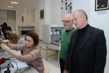 New Atomic and Nuclear Physics laboratory established at Baku branch of Lomonosov Moscow State University (PHOTO) - Gallery Thumbnail