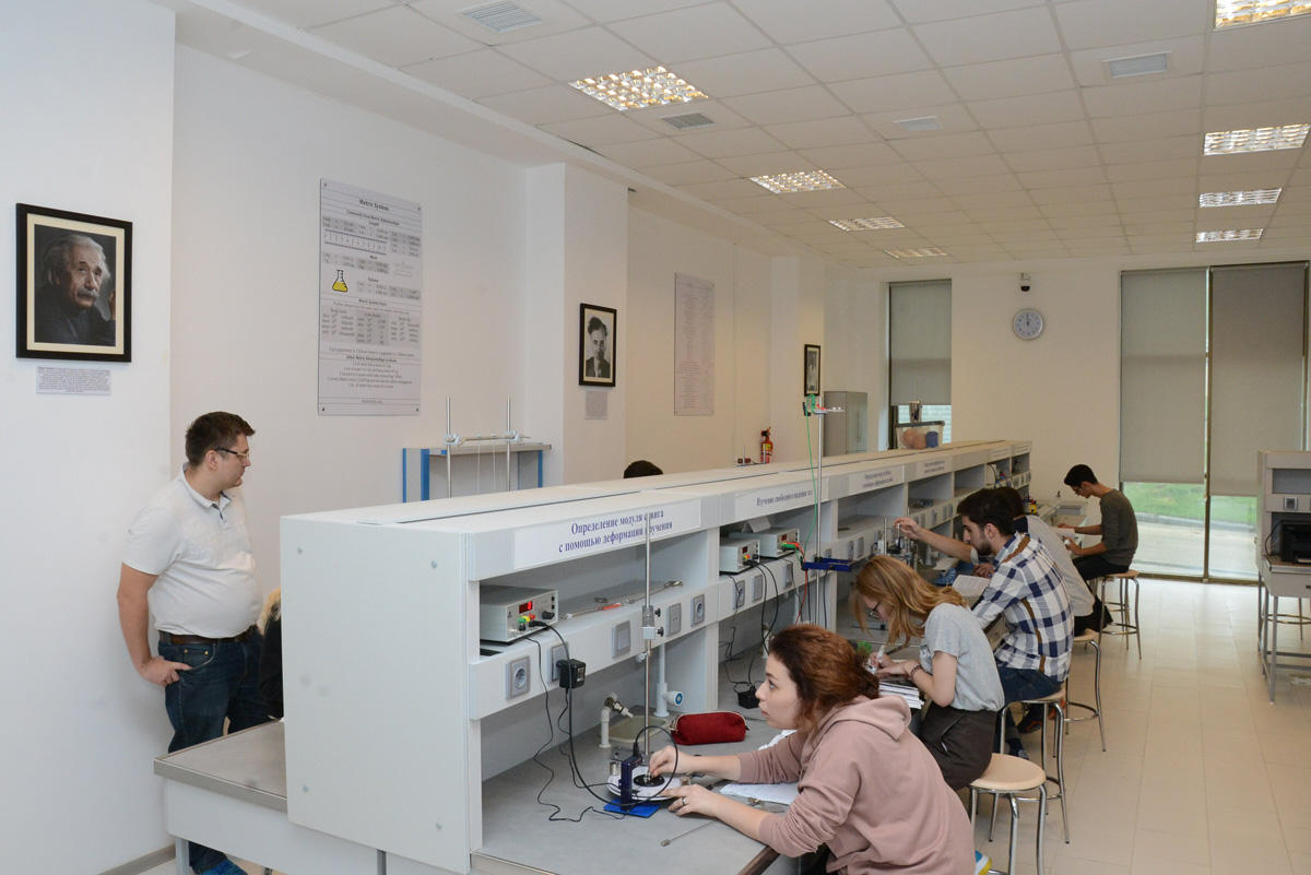 New Atomic and Nuclear Physics laboratory established at Baku branch of Lomonosov Moscow State University (PHOTO) - Gallery Image