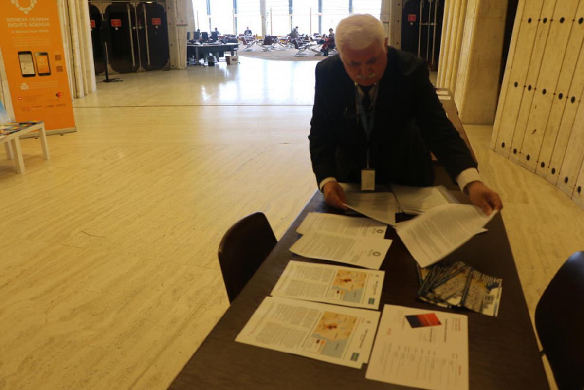 Международный фонд Евразия-пресс разоблачил  в ООН  ложь армян (ФОТО) - Gallery Image