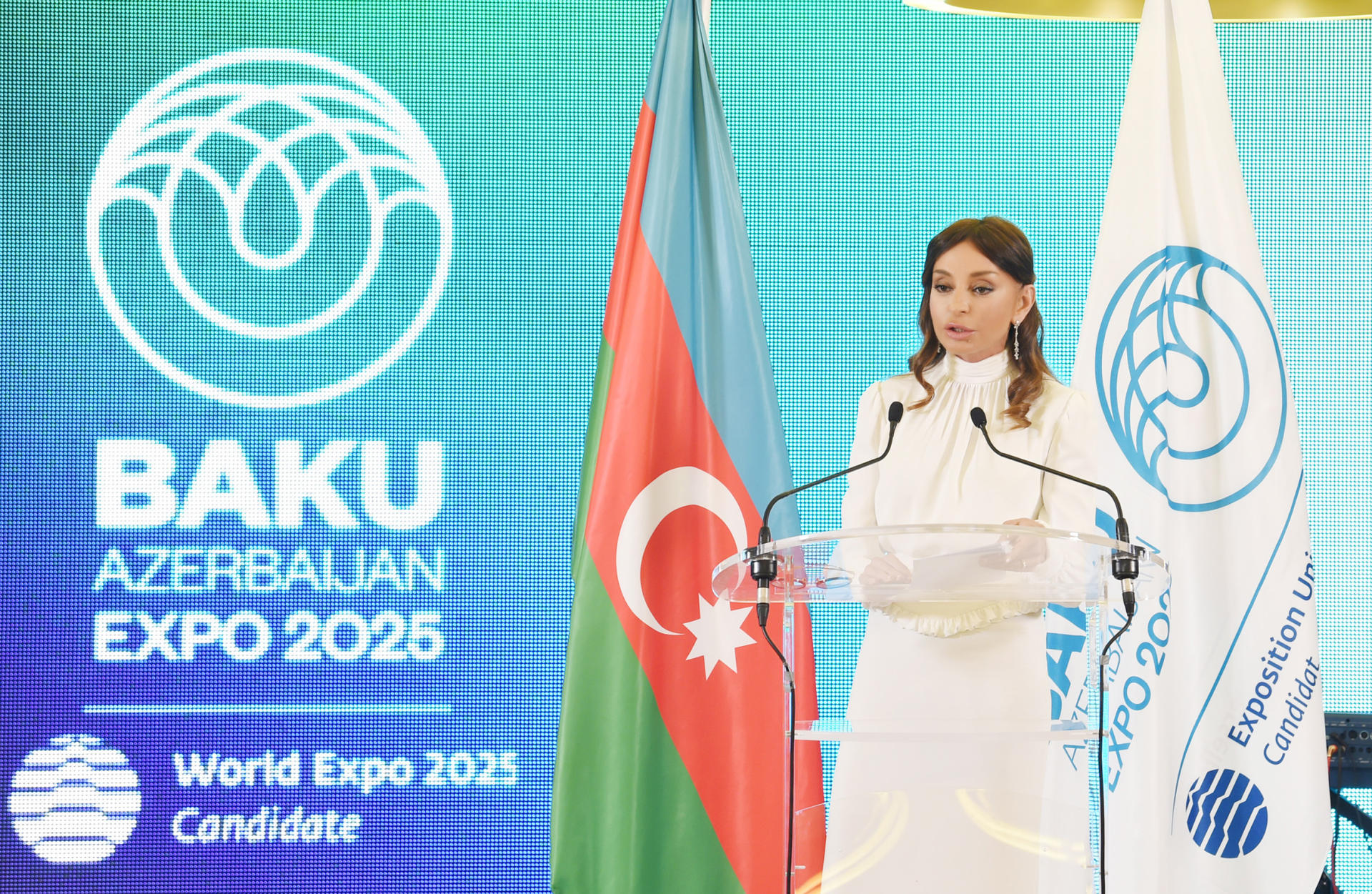 First VP Mehriban Aliyeva: Azerbaijan developed into key player in facilitating interconnection between Europe and Asia