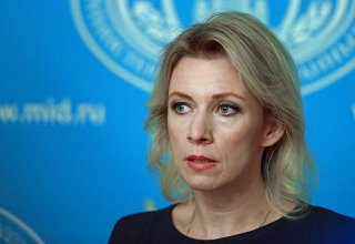 Zakharova: Russian FM intensively conducting talks on situation in Nagorno-Karabakh region