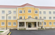 Ilham Aliyev inaugurates newly built secondary school in Masazir (PHOTO) - Gallery Thumbnail