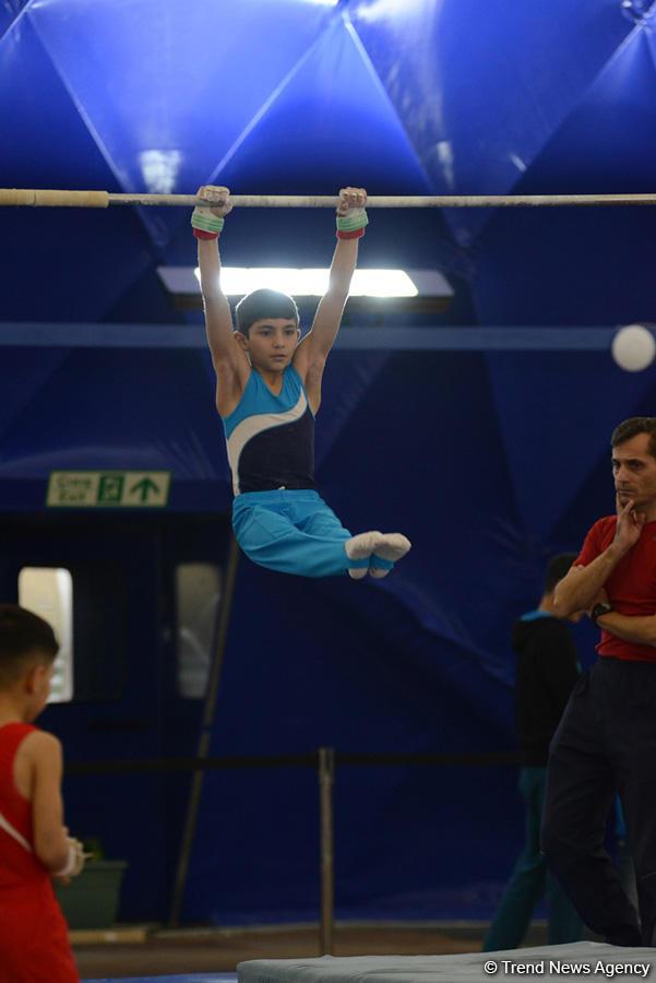 Стартовали чемпионаты Азербайджана по спортивной гимнастике и акробатике (ФОТО) - Gallery Image