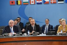 President Aliyev attends NATO North Atlantic Council meeting - Gallery Thumbnail