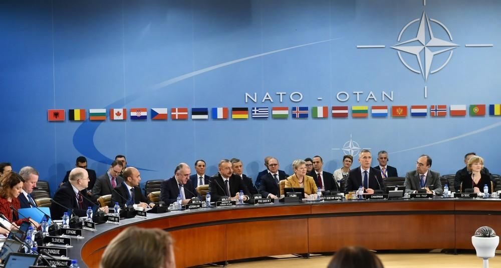 President Aliyev attends NATO North Atlantic Council meeting - Gallery Image