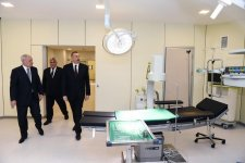 Ilham Aliyev attends inauguration of Sabirabad District Central Hospital (PHOTO) - Gallery Thumbnail