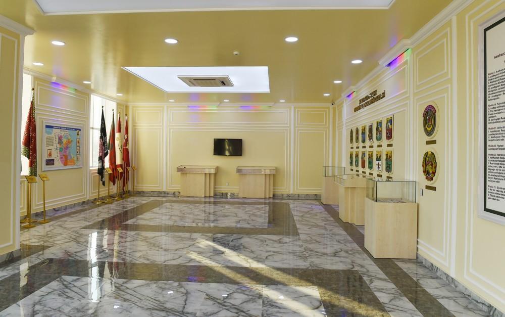 Prezident İlham Əliyev Ağcabədidə Bayraq Muzeyinin açılışında iştirak edib (FOTO) - Gallery Image