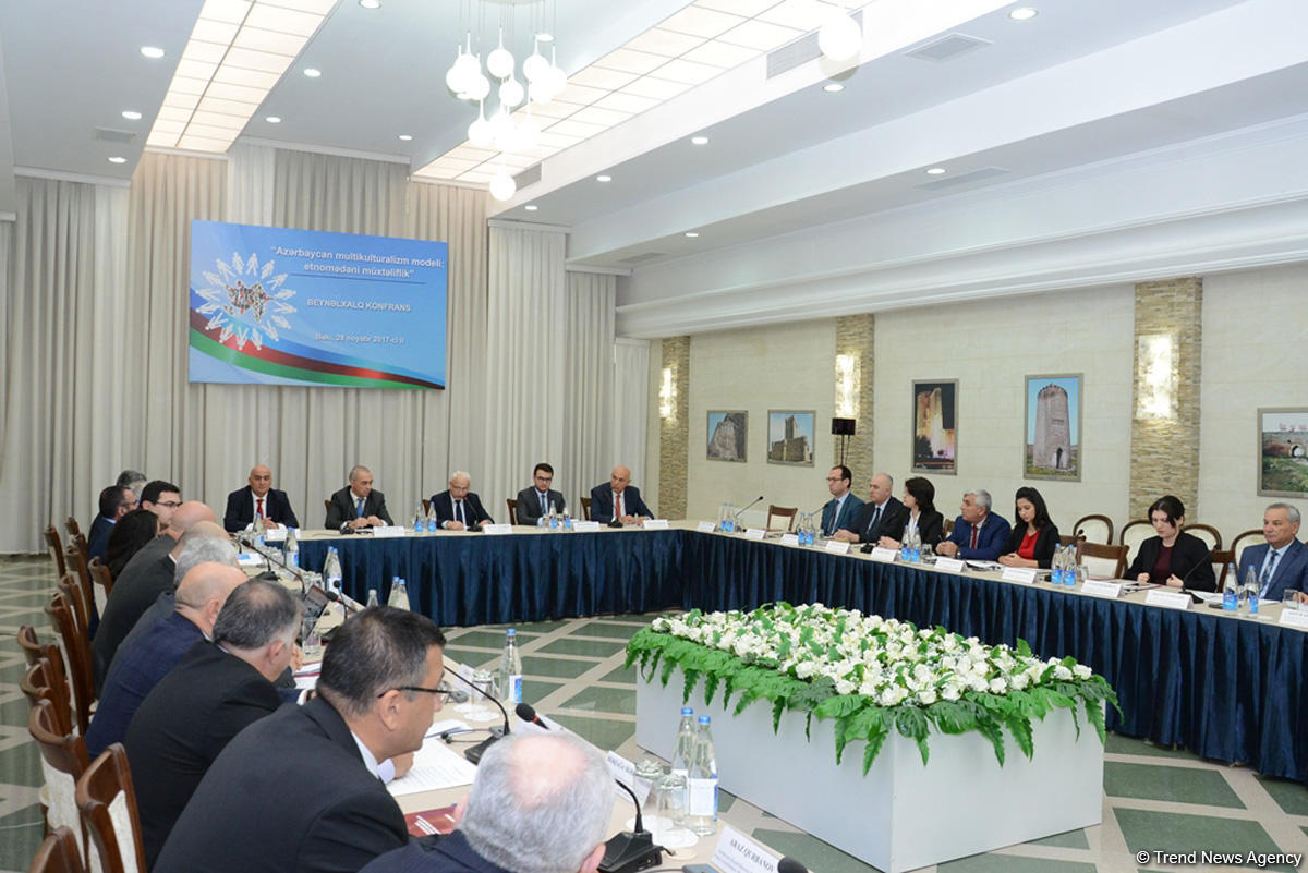 Baku hosts int'l conference on Azerbaijan's model of multiculturalism  (PHOTO) - Gallery Image
